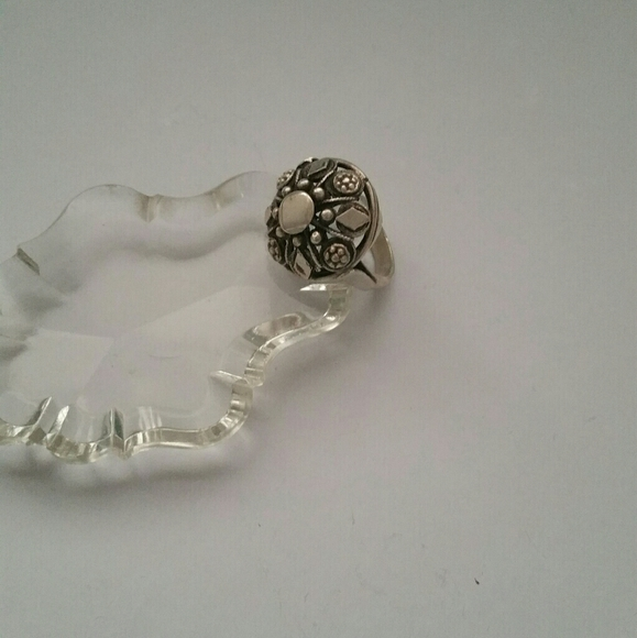 Antique Croatian Ring in Silver